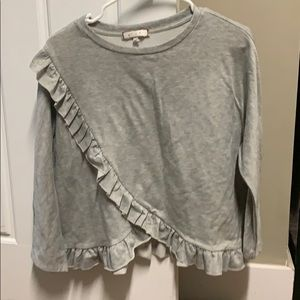 Anthropologie ruffle top small